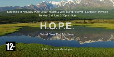 Free Screening of HOPE The Movie - What You Eat Matters!