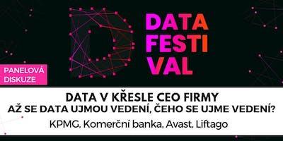Data v křesle CEO firmy aneb Až se data ujmou vedení, čeho se ujme vedení?
