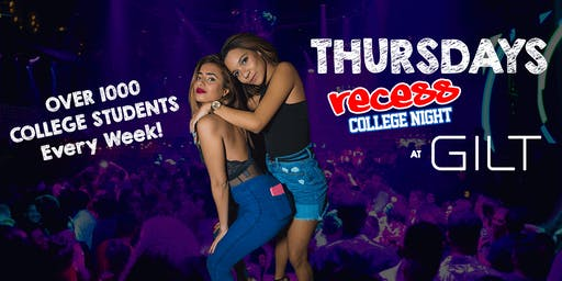 Thursdays at Gilt, Cowboys, Blue Martini, & more