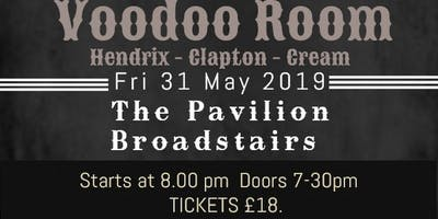 Voodoo Room play the music of Hendrix, Clapton And Cream