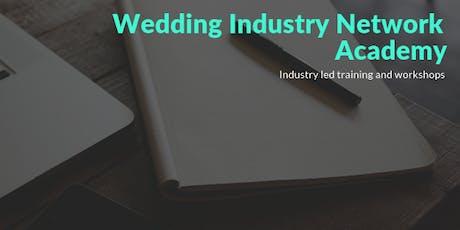 Training: Certificate in Wedding Planning for Venue Wedding Coordinators tickets