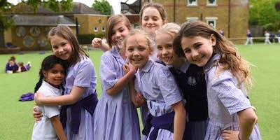 Junior School Open Day: Friday 18 October - 9.30am