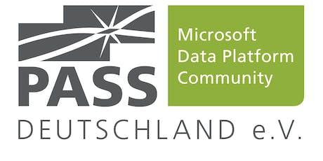 """PASS Essential """"Verschiedene Szenarien, die ein DBA im täglichen Arbeitsumfeld lösen sollte"""", 30.08.2019  Tickets"""