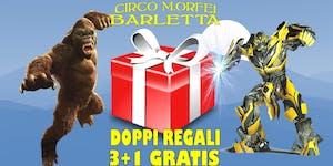 A Barletta arriva il Circo M.Orfei e c'è un doppio...