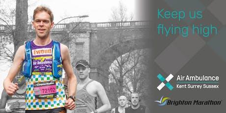 Brighton Marathon 2020 - Air Ambulance Kent Surrey Sussex tickets