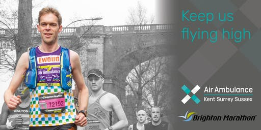 Brighton Marathon 2020 - Air Ambulance Kent Surrey Sussex