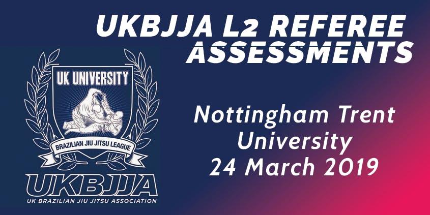 UKBJJA Level 2 Referee Assessments