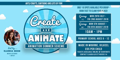 Create and Animate 2019