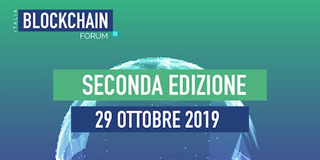 Blockchain Forum Italia 2019  tickets