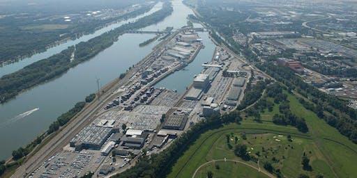 Exkursion Hafen Wien