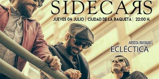 Sidecars en Concierto Especial X Aniversario Ciudad Raqueta (Madrid)