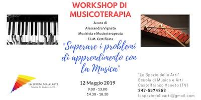 Workshop di Musicoterapia per docenti ed educatori