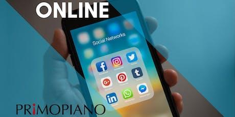 Corso Online Social Media Management biglietti