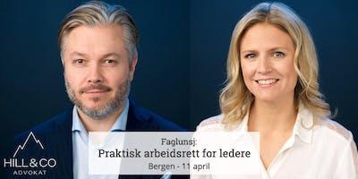 Bergen: Praktisk arbeidsrett for ledere