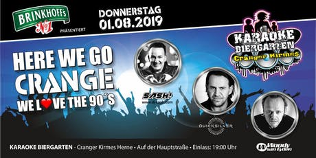 HERE WE GO CRANGE / WE LOVE THE 90´´s Tickets