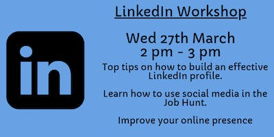 LinkedIn Workshop - Energy, Construction & Environment