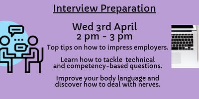 Interview Preparation - Energy, Construction & Environment - Open to years 1 and 2