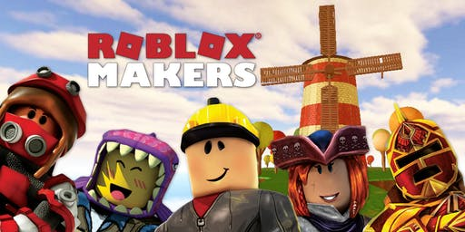 Summer Camp- Fab Lab- Roblox Makers, gaming, Black Rocket