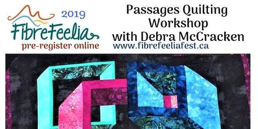 """Quilting """"Passages"""" Workshop with Instructor Debra McCracken"""