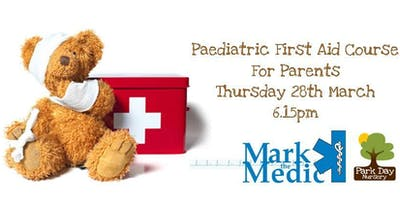 Paediatric First Aid Course For Parents