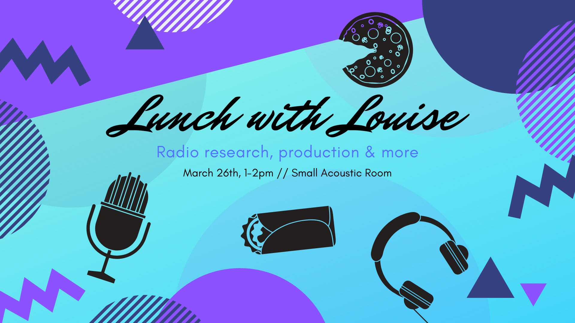 Flirt FM Training Events: Lunch with Louise