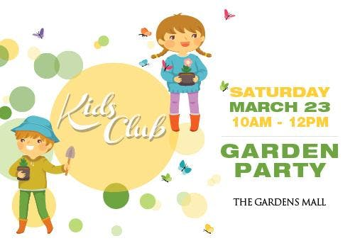 Kids Club Garden Party!