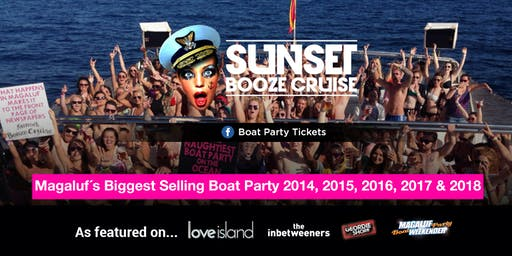 Sunset Booze Cruise - Boat Party Magaluf 2019