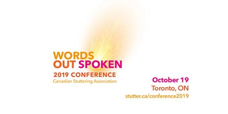 Words Out Spoken - 2019 Conference tickets