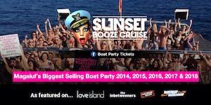 Sunset Booze Cruise Magaluf 2019