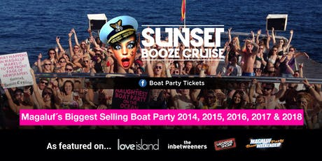Sunset Booze Cruise Magaluf 2019 Tickets