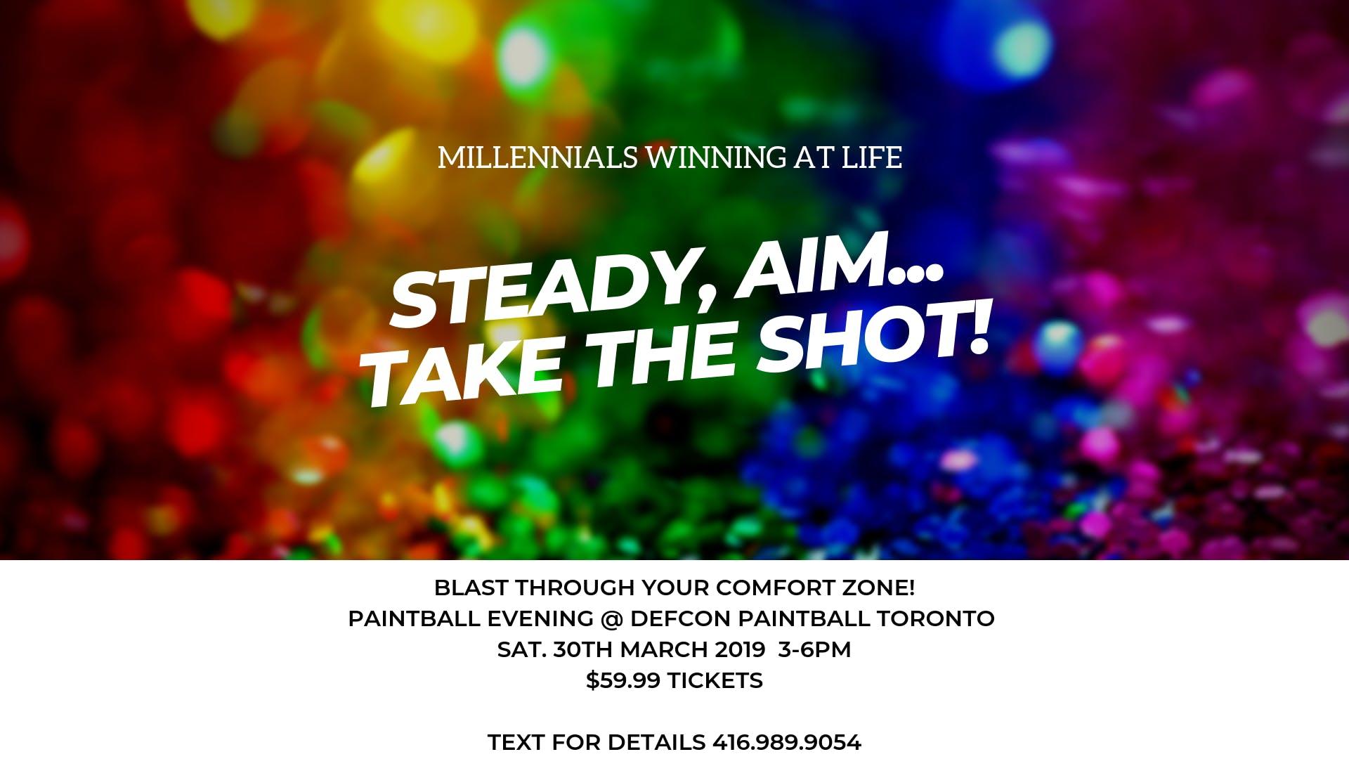 BLAST Through Your Comfort Zone: Millennial Paintball Evening - 30