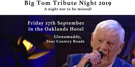 Big Tom Tribute Night tickets
