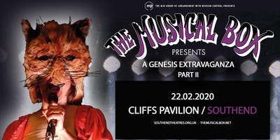 The Musical Box: A Genesis Extravaganza 2020 (Cliffs Pavillion, Southend)