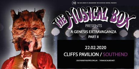 The Musical Box: A Genesis Extravaganza 2020 (Cliffs Pavillion, Southend) tickets