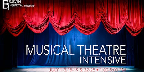 Musical Theatre Intensive by Brusven Theatrical tickets