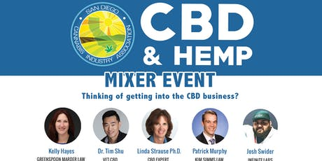 CBD & Hemp Educational Mixer tickets