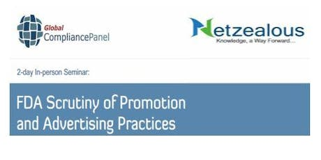 FDA Scrutiny of Promotion and Advertising Practices (NTZ) tickets