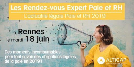 Les Rendez-vous Expert Paie & RH - Rennes
