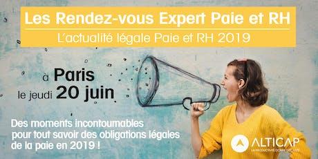 Les Rendez-vous Expert Paie & RH - Paris billets