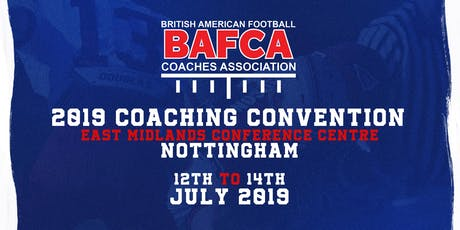 BAFCA Coaching Convention 2019 tickets