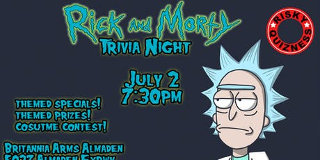 Rick and Morty Trivia Night! tickets