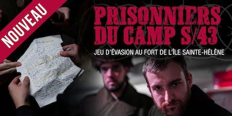 Jeu d'évasion - Prisonniers du Camp S/43  billets