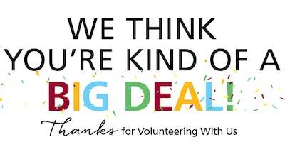Nutrition for Learning Volunteer Appreciation 2019