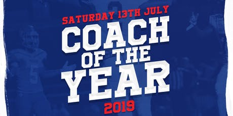 BAFCA Coach of the Year Awards Dinner 2019 tickets