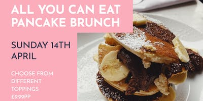 All You Can Eat Pancake Brunch Sunday 14th April