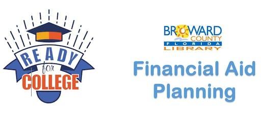Financial Aid Planning @ Tamarac Branch Library (BPLF)