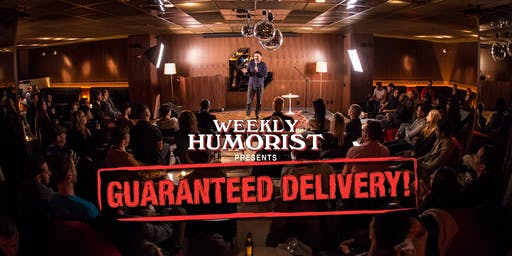 Weekly Humorist Presents Guaranteed Delivery! Comedy Night at the Mailroom!