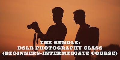 THE BUNDLE: DSLR PHOTOGRAPHY CLASS (BEGINNERS-INTERMEDIATE COURSE)