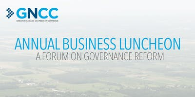 Annual Business Luncheon: A Forum on Governance Reform