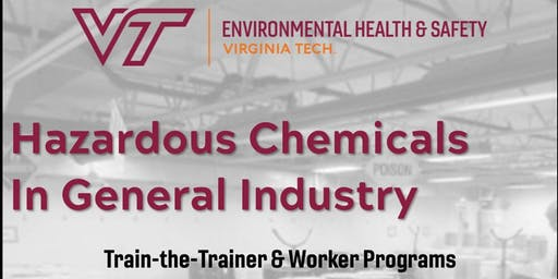 Hazardous Chemicals in General Industry Train-the-Trainer